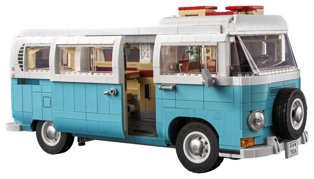 LEGO for Adults 10279 Volkswagen T2 Camper Van 3