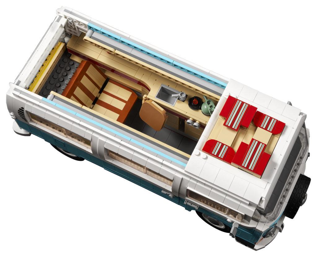 LEGO for Adults 10279 Volkswagen T2 Camper Van 4