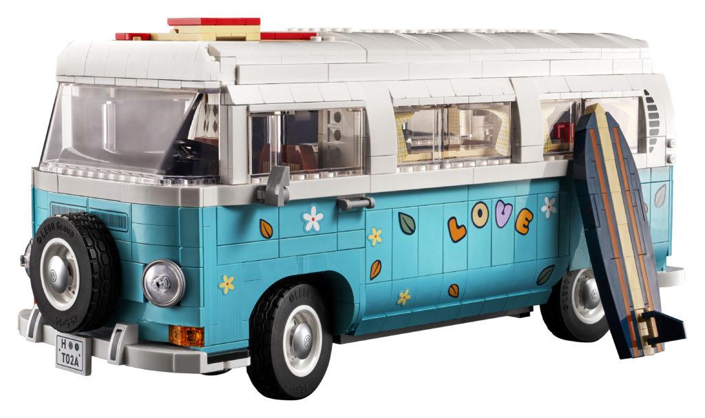LEGO for Adults 10279 Volkswagen T2 Camper Van 6