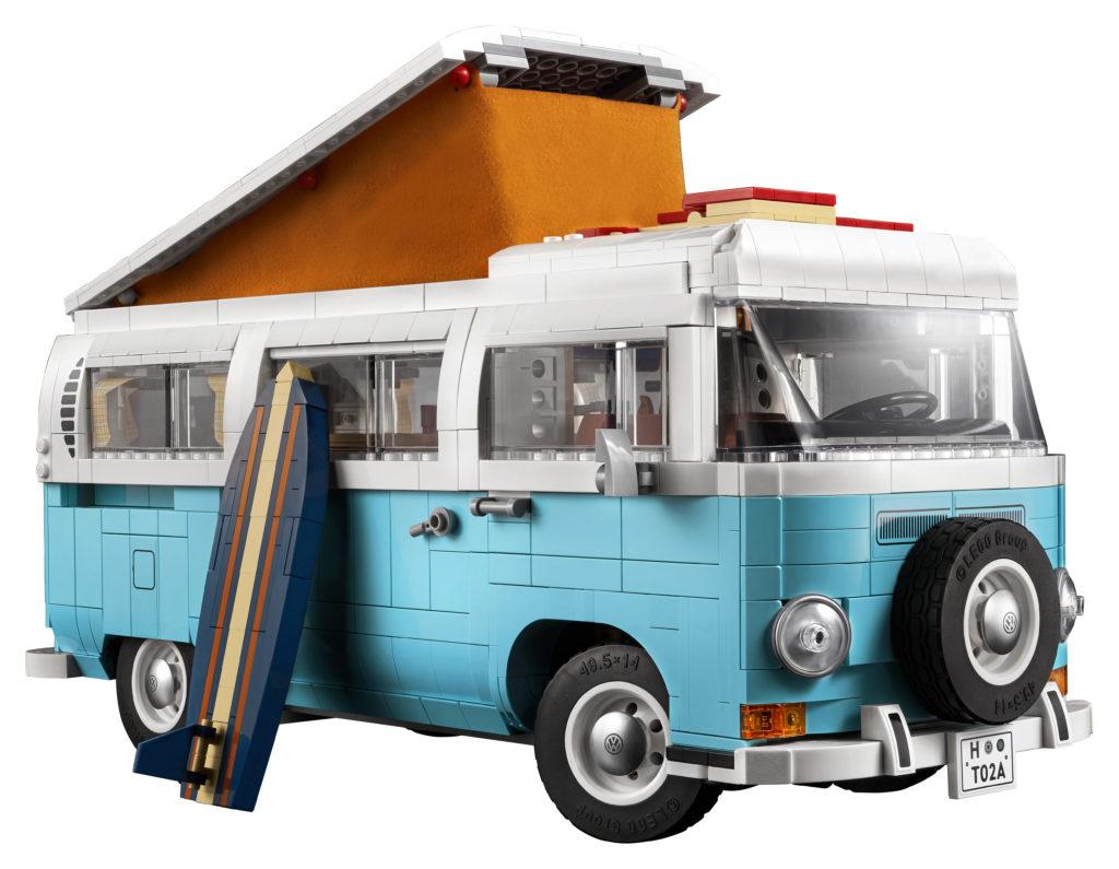 LEGO for Adults 10279 Volkswagen T2 Camper Van 7