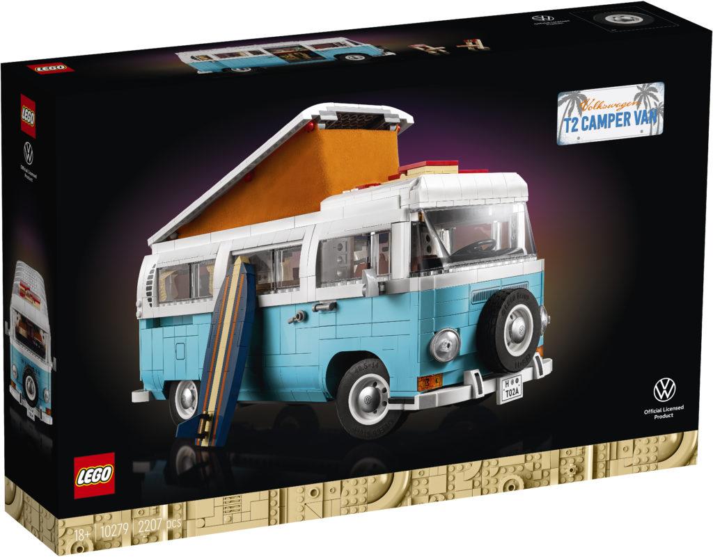 LEGO for Adults 10279 Volkswagen T2 Camper Van Box 1