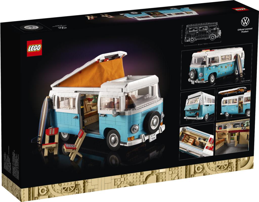 LEGO for Adults 10279 Volkswagen T2 Camper Van Box 2