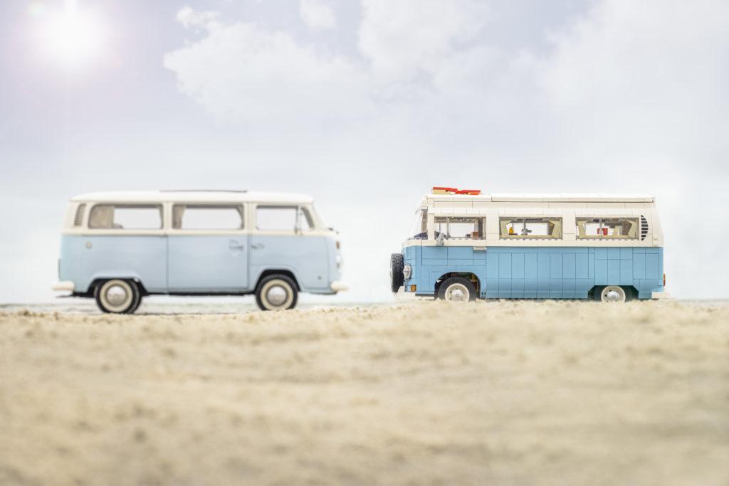 LEGO for Adults 10279 Volkswagen T2 Camper Van real life van 2