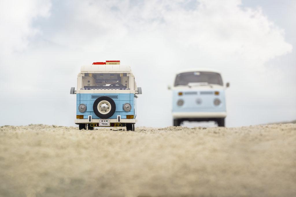 LEGO for Adults 10279 Volkswagen T2 Camper Van real life van 7