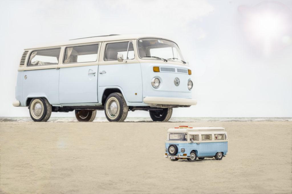 LEGO for Adults 10279 Volkswagen T2 Camper Van real life van 8