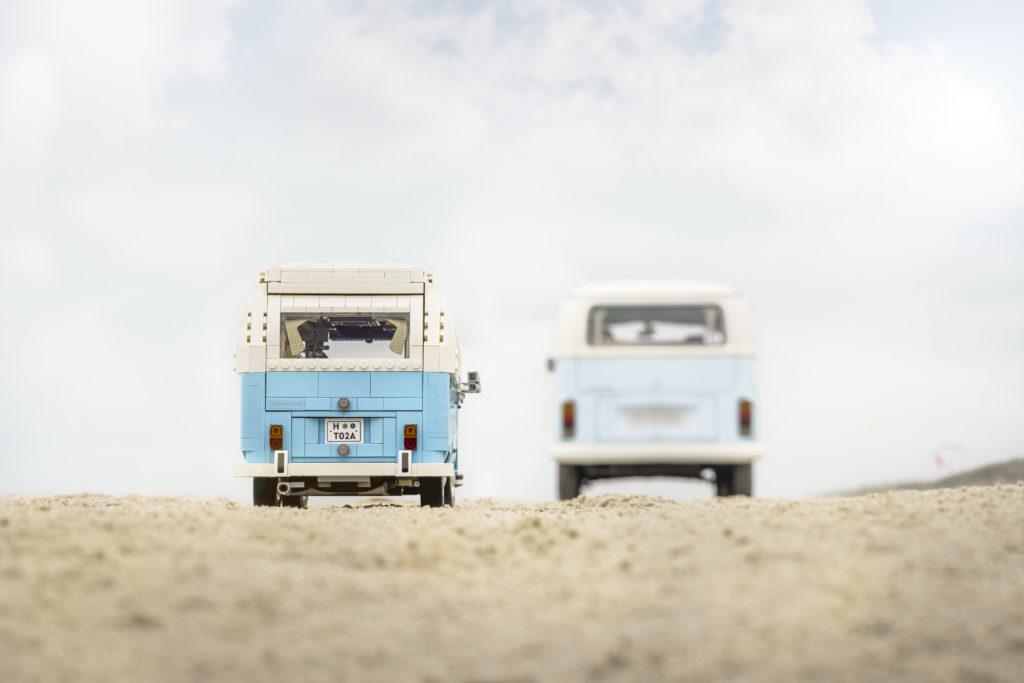 LEGO for Adults 10279 Volkswagen T2 Camper Van real life van 9