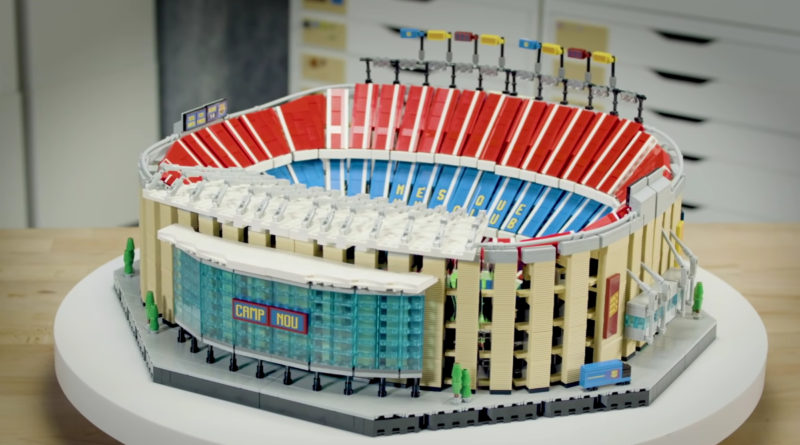LEGO for Adults 10284 Camp Nou – FC Barcelona designer video featured