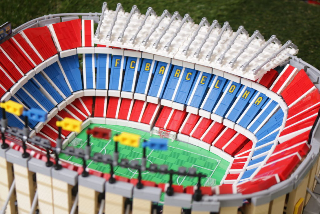 LEGO for Adults 10284 Camp Nou – FC Barcelona review 14
