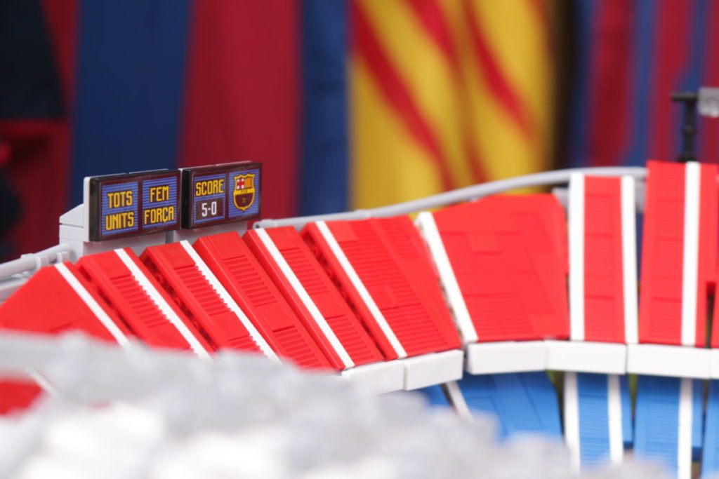 LEGO for Adults 10284 Camp Nou – FC Barcelona review 16