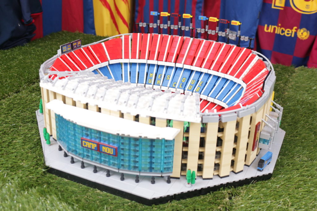 LEGO for Adults 10284 Camp Nou – FC Barcelona review 2