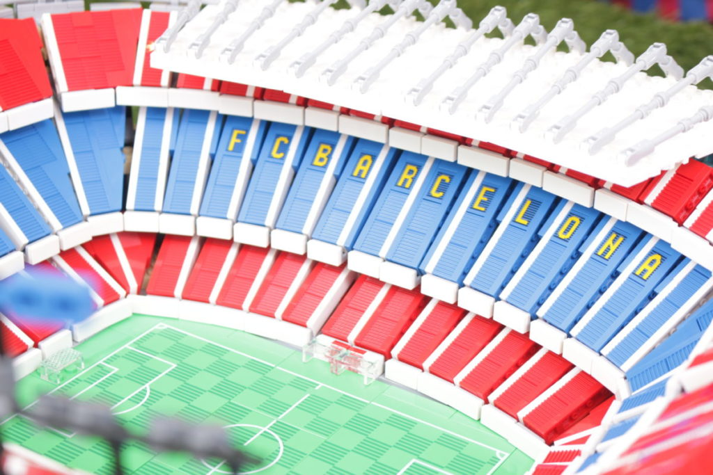 LEGO for Adults 10284 Camp Nou – FC Barcelona review 27