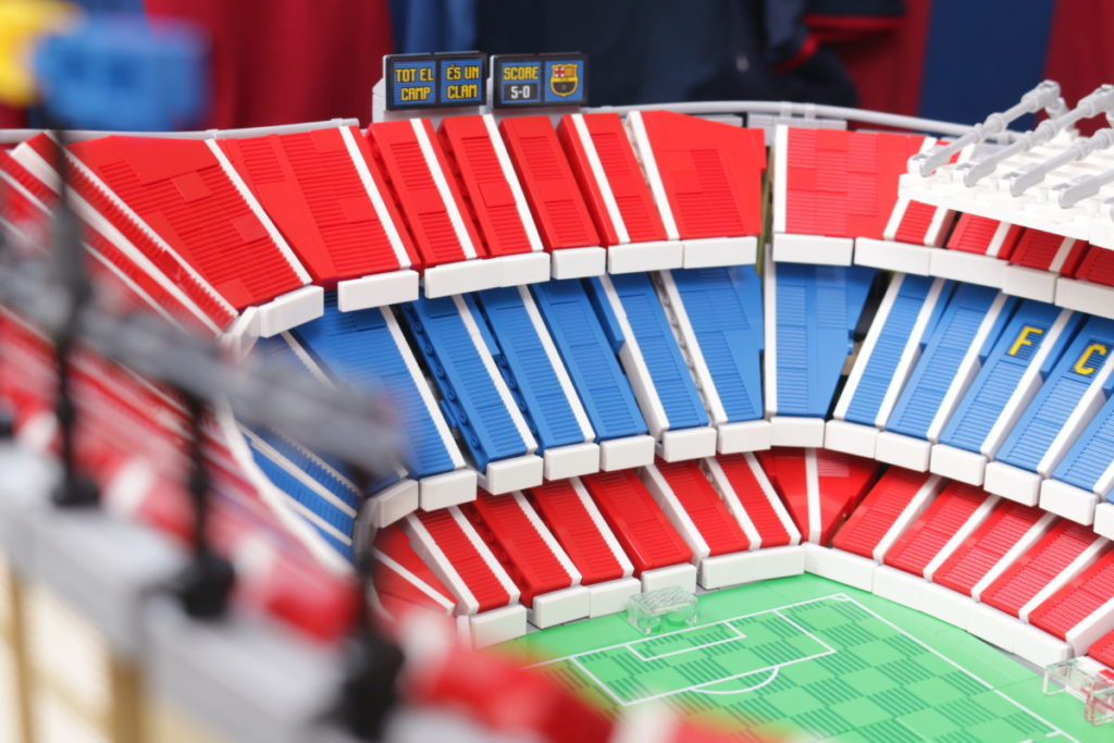 LEGO for Adults 10284 Camp Nou – FC Barcelona review 28