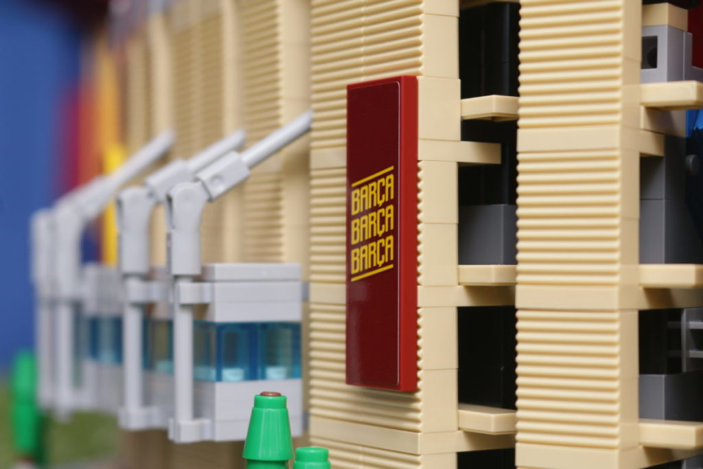 LEGO for Adults 10284 Camp Nou – FC Barcelona review 34