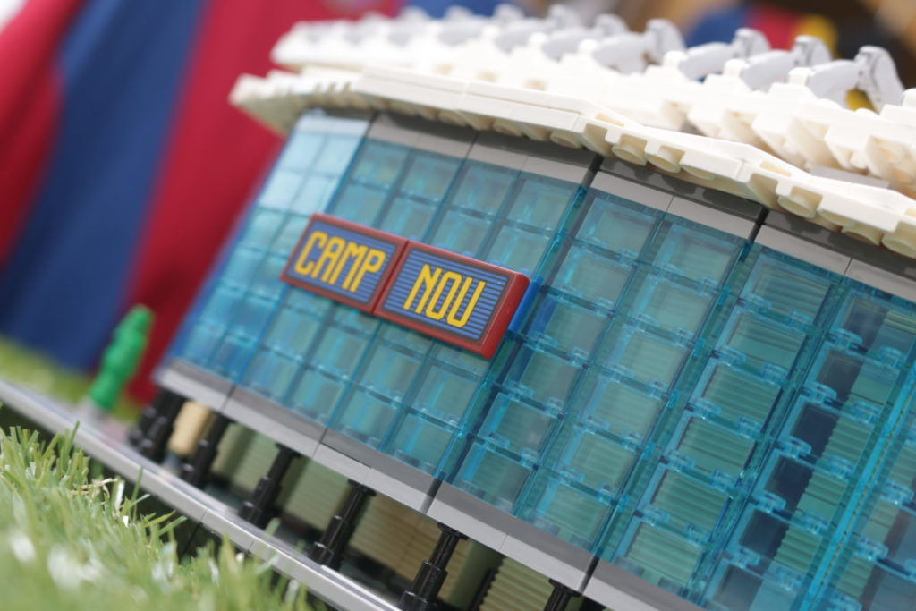 LEGO for Adults 10284 Camp Nou – FC Barcelona review 37