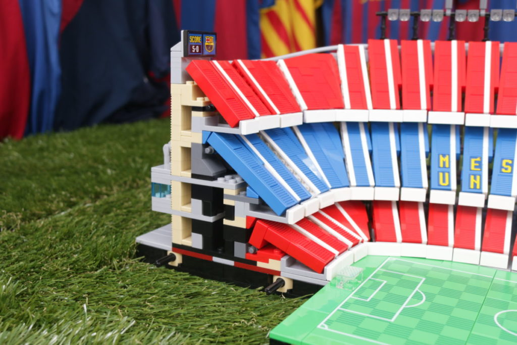 LEGO for Adults 10284 Camp Nou – FC Barcelona review 40