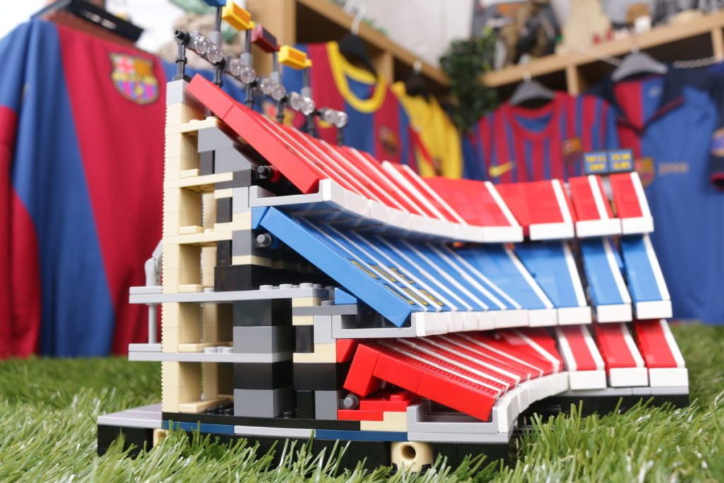 LEGO for Adults 10284 Camp Nou – FC Barcelona review 44