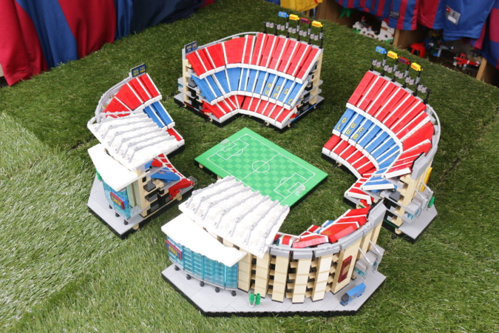 LEGO for Adults 10284 Camp Nou – FC Barcelona review 46