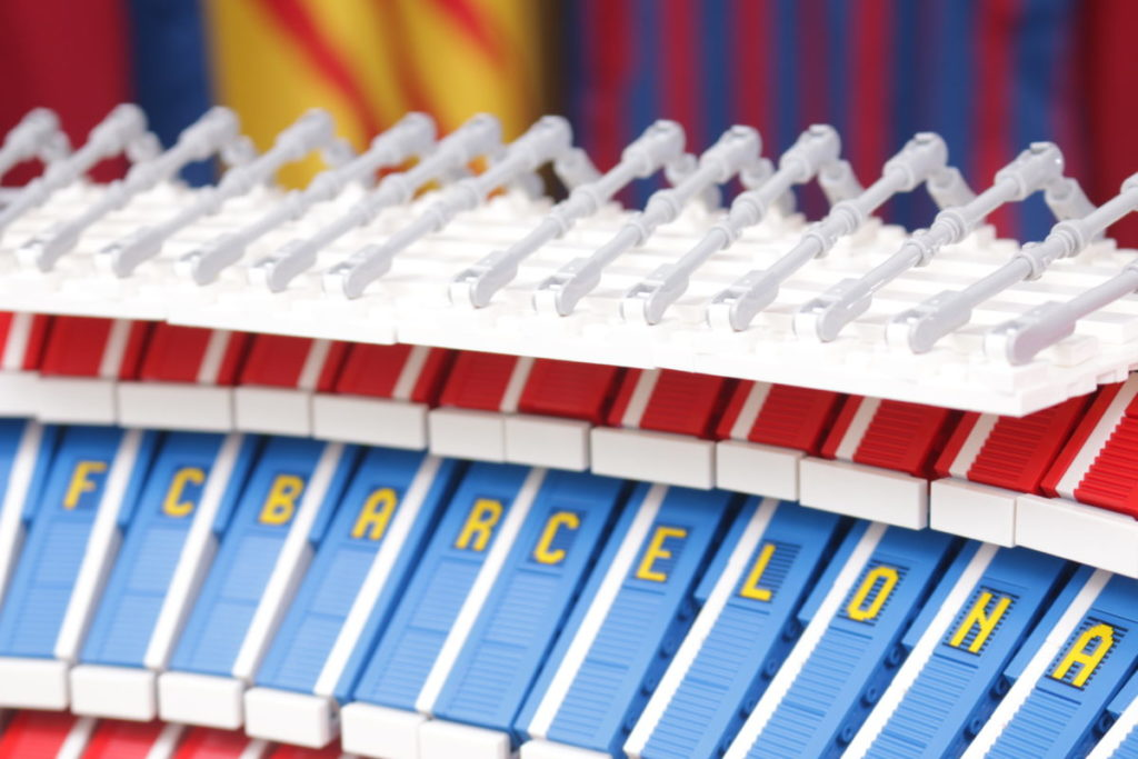 LEGO for Adults 10284 Camp Nou – FC Barcelona review 51