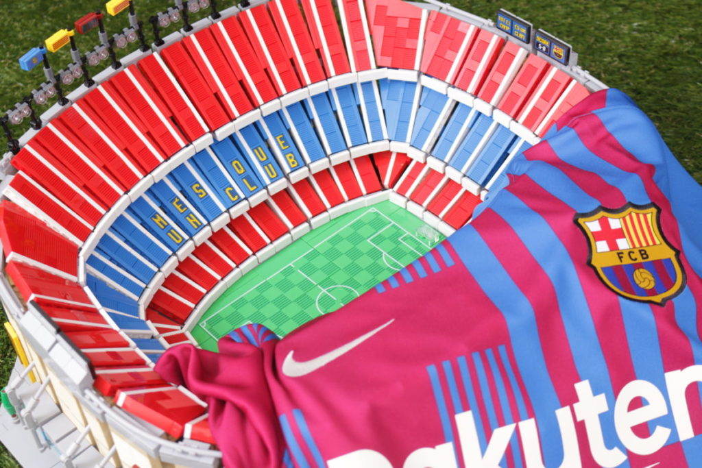 LEGO for Adults 10284 Camp Nou – FC Barcelona review 53