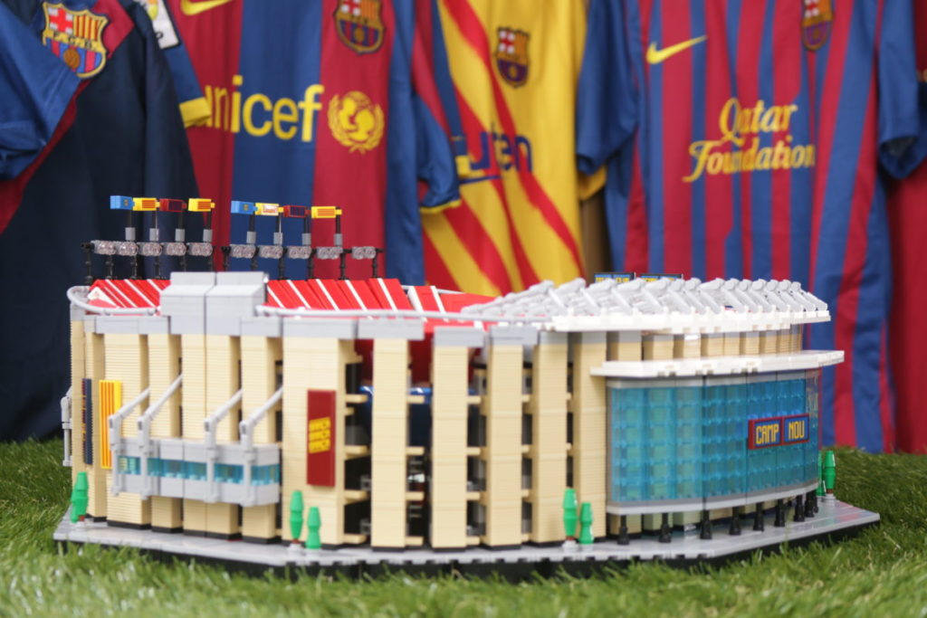 LEGO for Adults 10284 Camp Nou – FC Barcelona review 7