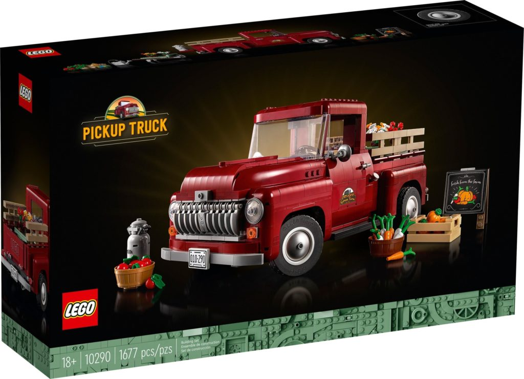 LEGO for Adults 10290 Pickup Truck 1