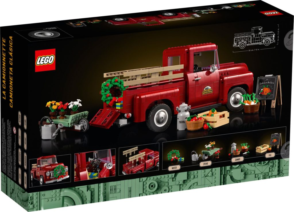 LEGO for Adults 10290 Pickup Truck 2