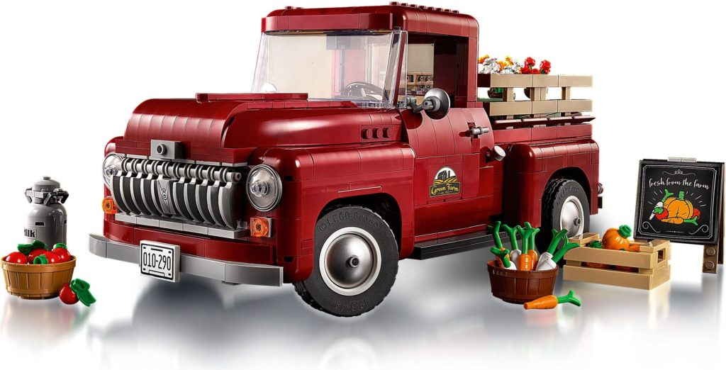 LEGO for Adults 10290 Pickup Truck 3