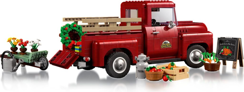 LEGO for Adults 10290 Pickup Truck 4
