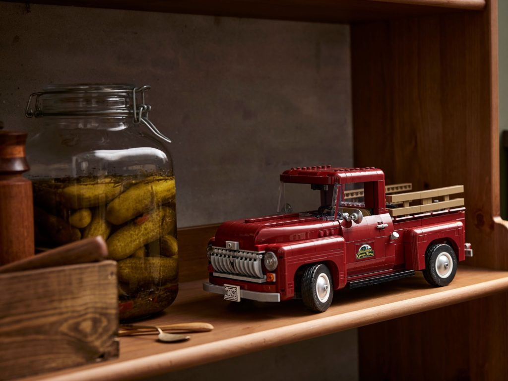 LEGO for Adults 10290 Pickup Truck 7