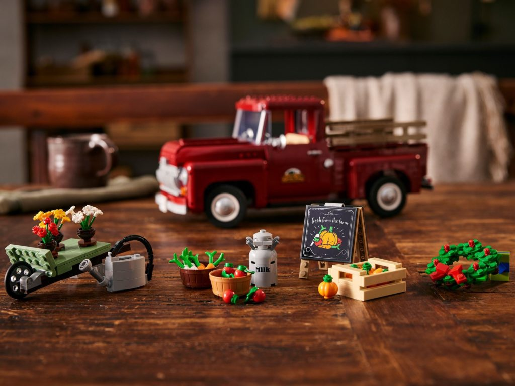 LEGO for Adults 10290 Pickup Truck 9