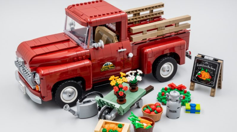 LEGO for Adults 10290 Pickup Truck HB review featured