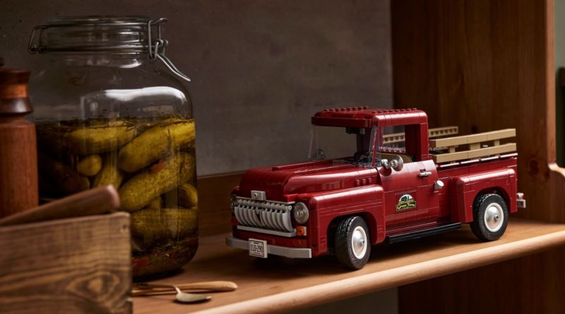 LEGO for Adults 10290 Pickup Truck featured 2