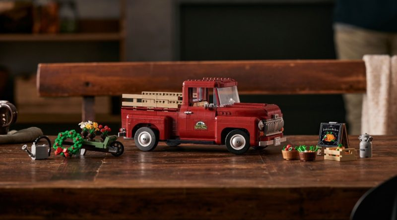 LEGO for Adults 10290 Pickup Truck featured resized