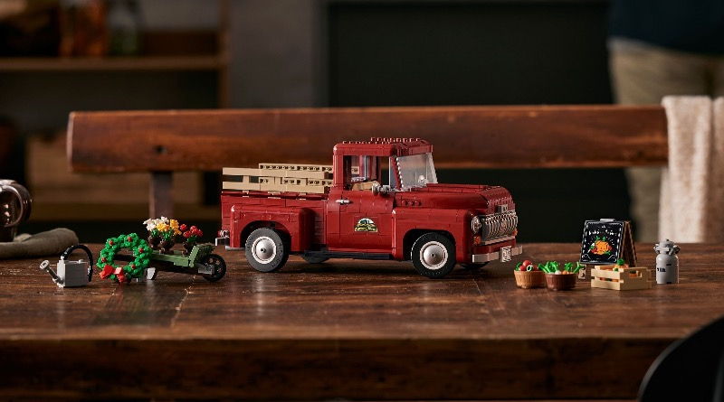 LEGO For Adults 10290 Pickup Truck Featured