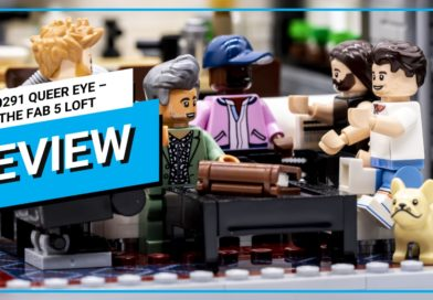 Video review: LEGO for Adults 10291 Queer Eye – The Fab 5 Loft