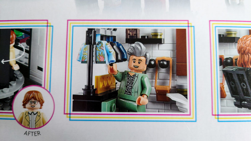 LEGO for Adults 10291 Queer Eye The Fab 5 Loft 12 box 2