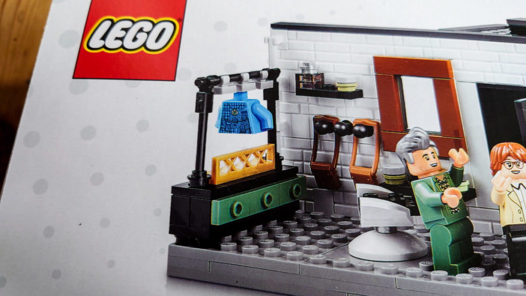 LEGO for Adults 10291 Queer Eye The Fab 5 Loft box 1