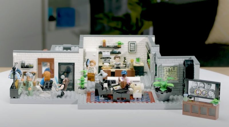 LEGO for Adults 10291 Queer Eye The Fab 5 loft designer video featured