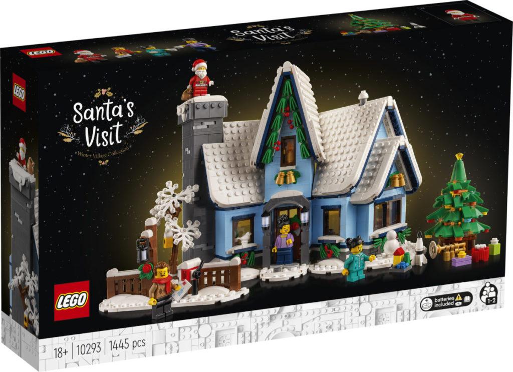 LEGO მოზრდილთათვის 10293 სანტა ვიზიტი 1