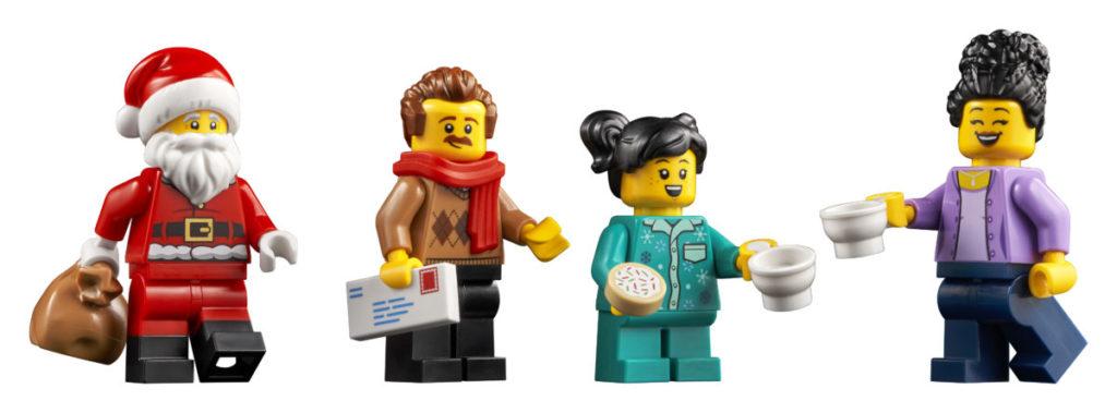 LEGO მოზრდილთათვის 10293 სანტა ვიზიტი 11
