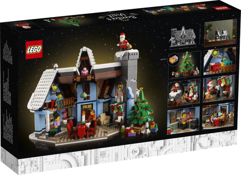 LEGO მოზრდილთათვის 10293 სანტა ვიზიტი 2