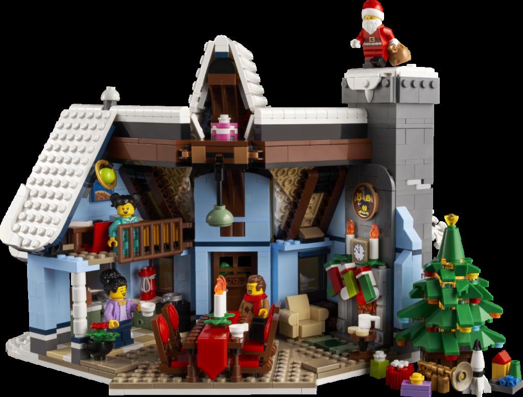 LEGO მოზრდილთათვის 10293 სანტა ვიზიტი 3