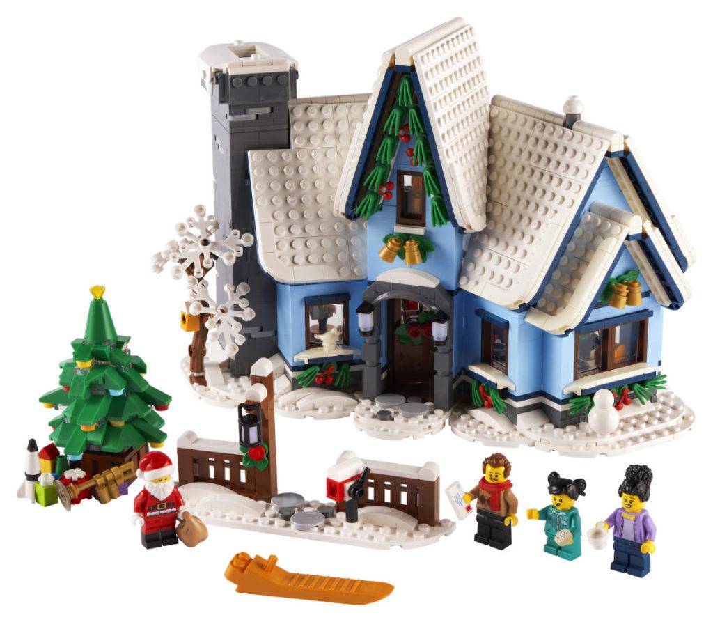LEGO მოზრდილთათვის 10293 სანტა ვიზიტი 4