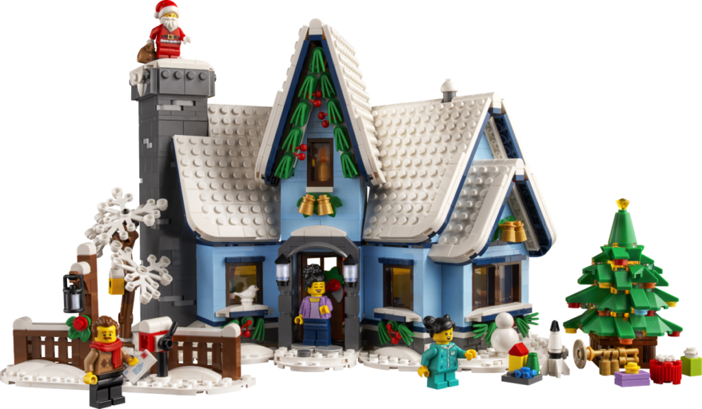 LEGO მოზრდილთათვის 10293 სანტა ვიზიტი 5