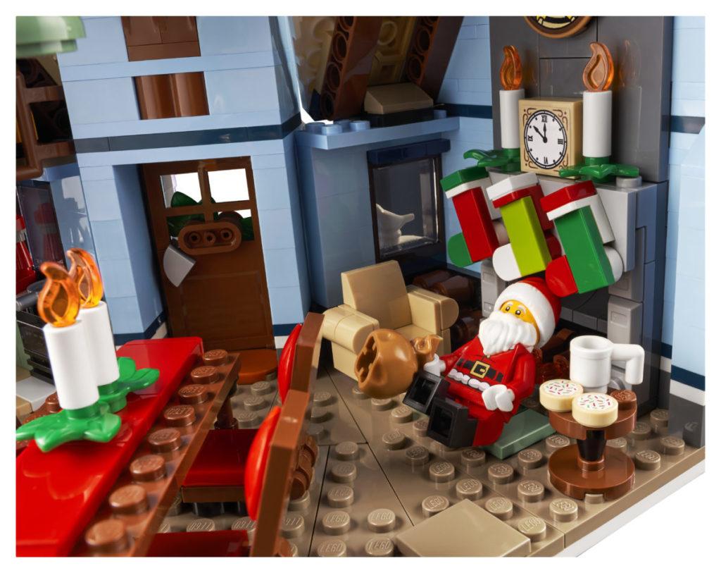 LEGO მოზრდილთათვის 10293 სანტა ვიზიტი 7