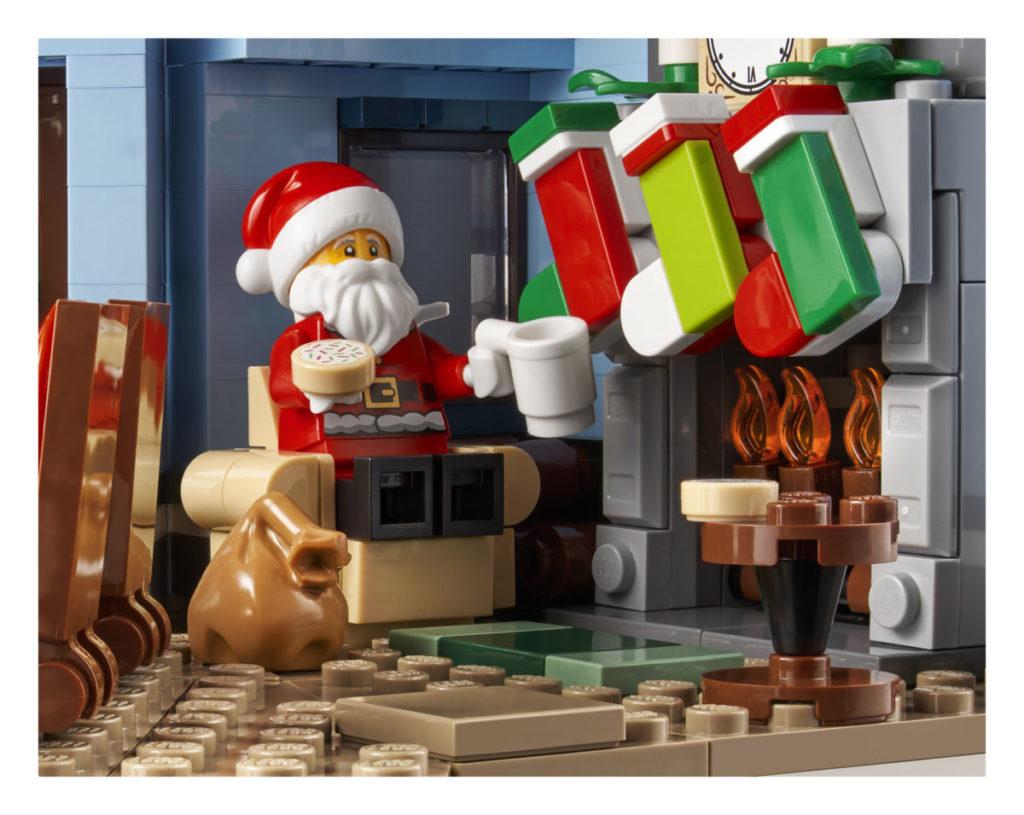 LEGO მოზრდილთათვის 10293 სანტა ვიზიტი 8