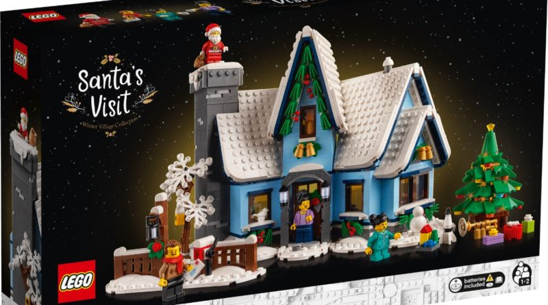 LEGO for Adults 10293 Santas Visit box featured