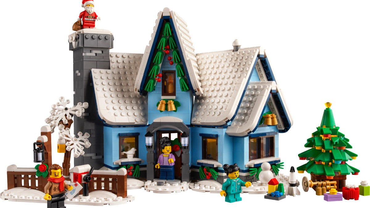 LEGO For Adults 10293 Santas Visit Featured 1