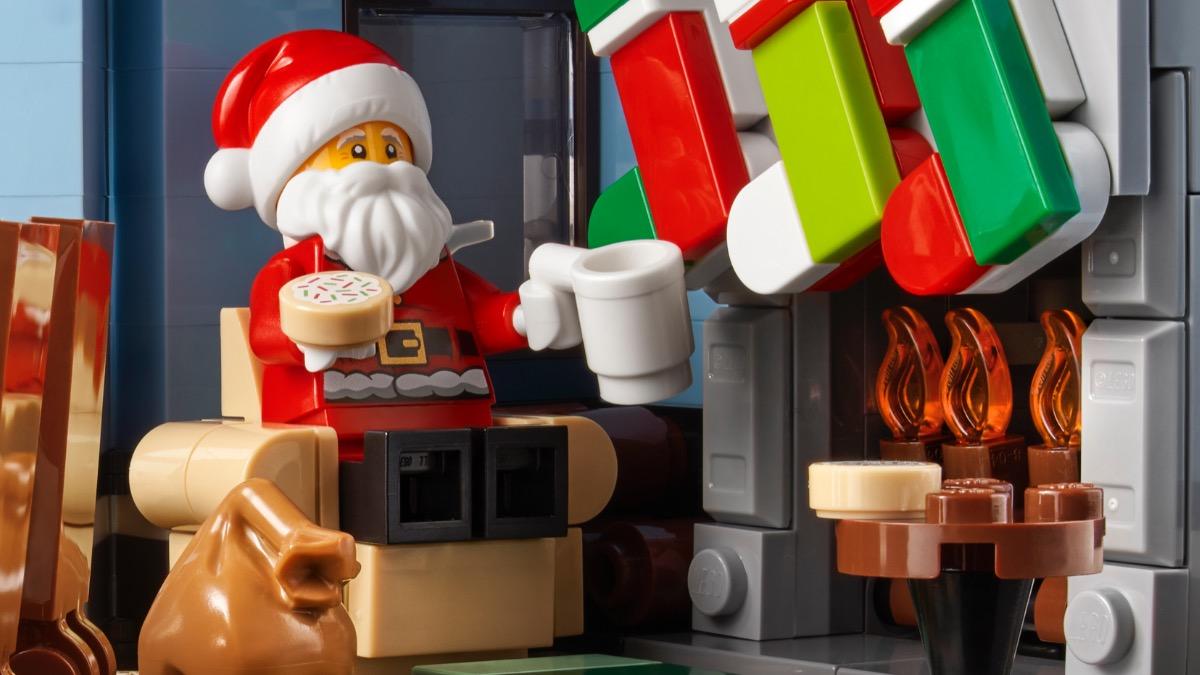 LEGO მოზრდილთათვის 10293 სანტა ეწვიეთ რჩეულებში 2