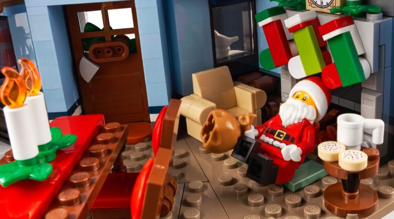 LEGO for Adults 10293 Santas Visit featured 3